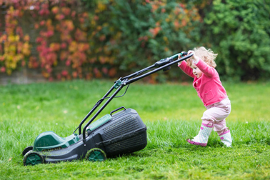 Mowing in fall
